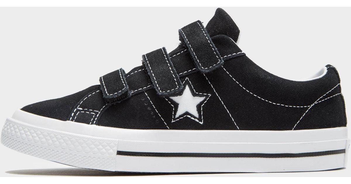 najlepsze buty gorące nowe produkty kupić Converse Black One Star 3v Junior for men