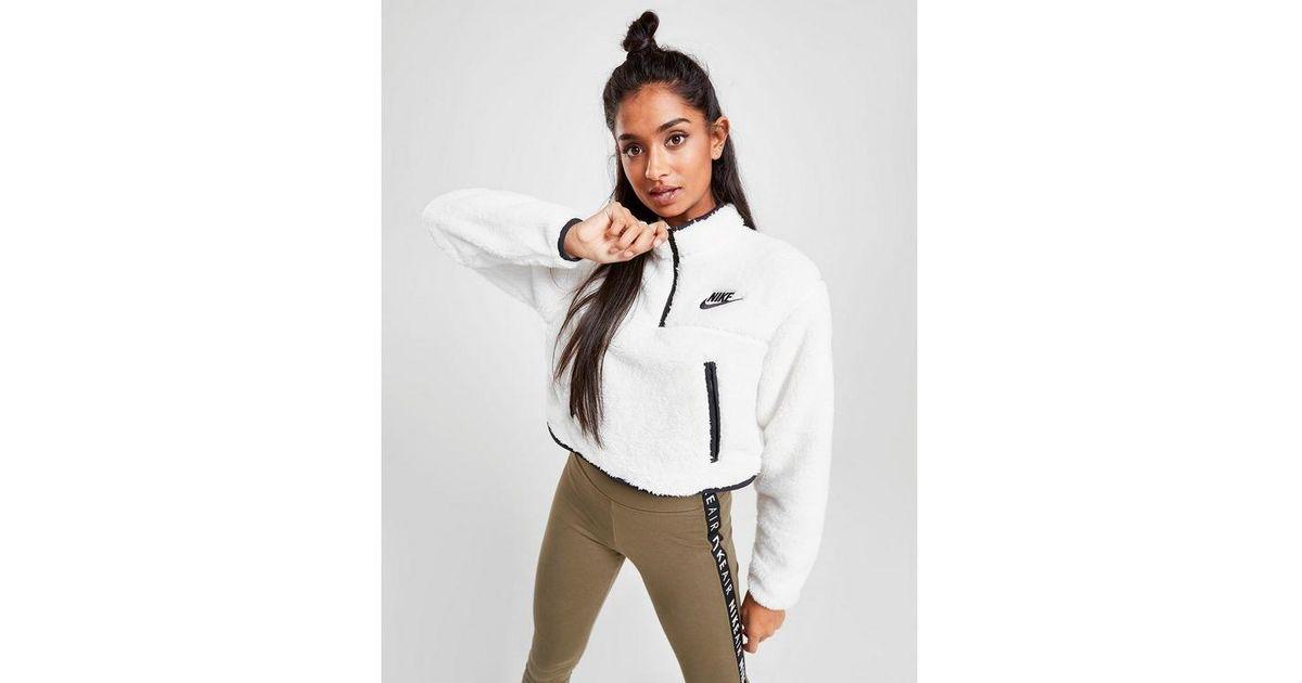 nike polar fleece 1/4 zip sweatshirt