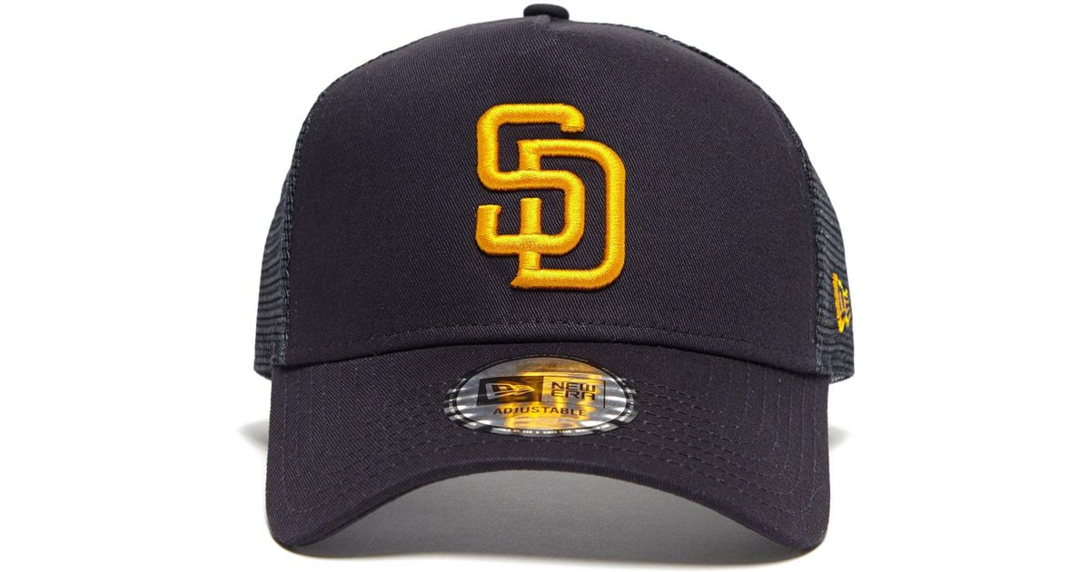 Lyst - KTZ Mlb San Diego Padres Trucker Cap in Black for Men 3c3129b5023