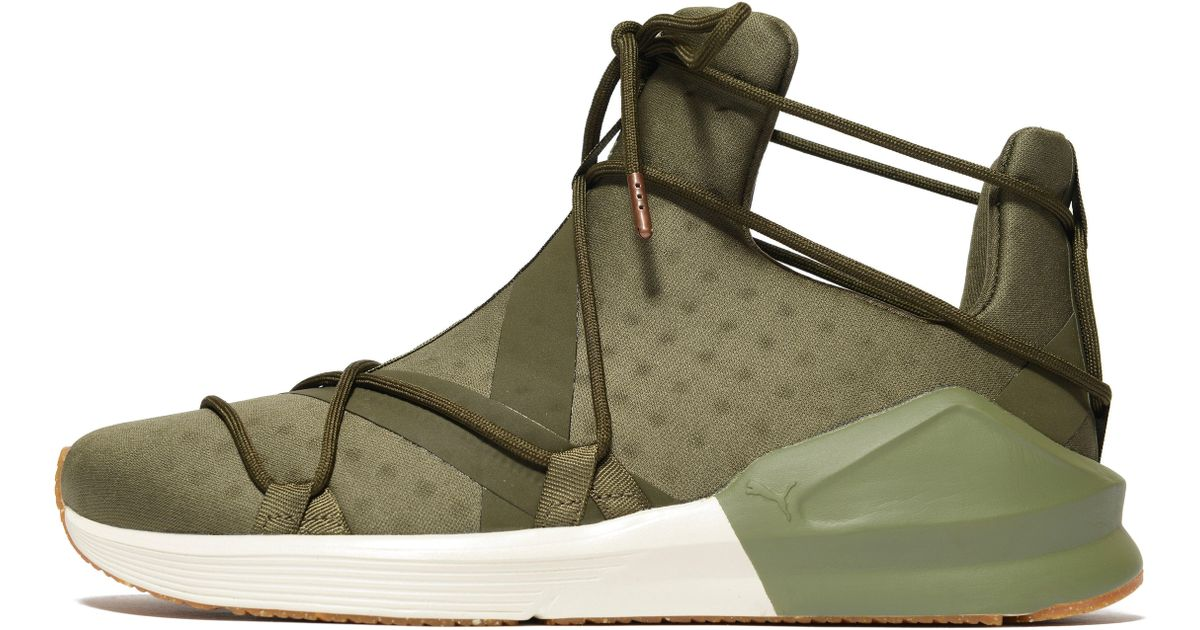 PUMA Synthetic Fierce Rope in Olive