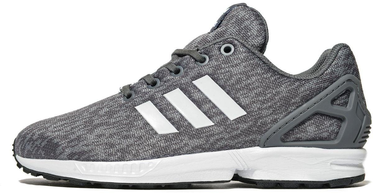 Adidas Originals Gray Zx Flux Junior for men