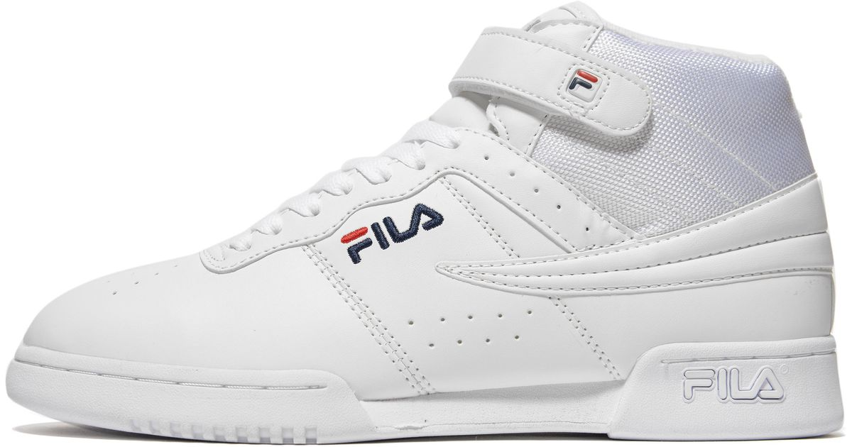 Fila Synthetic F13 in White/Navy/Red