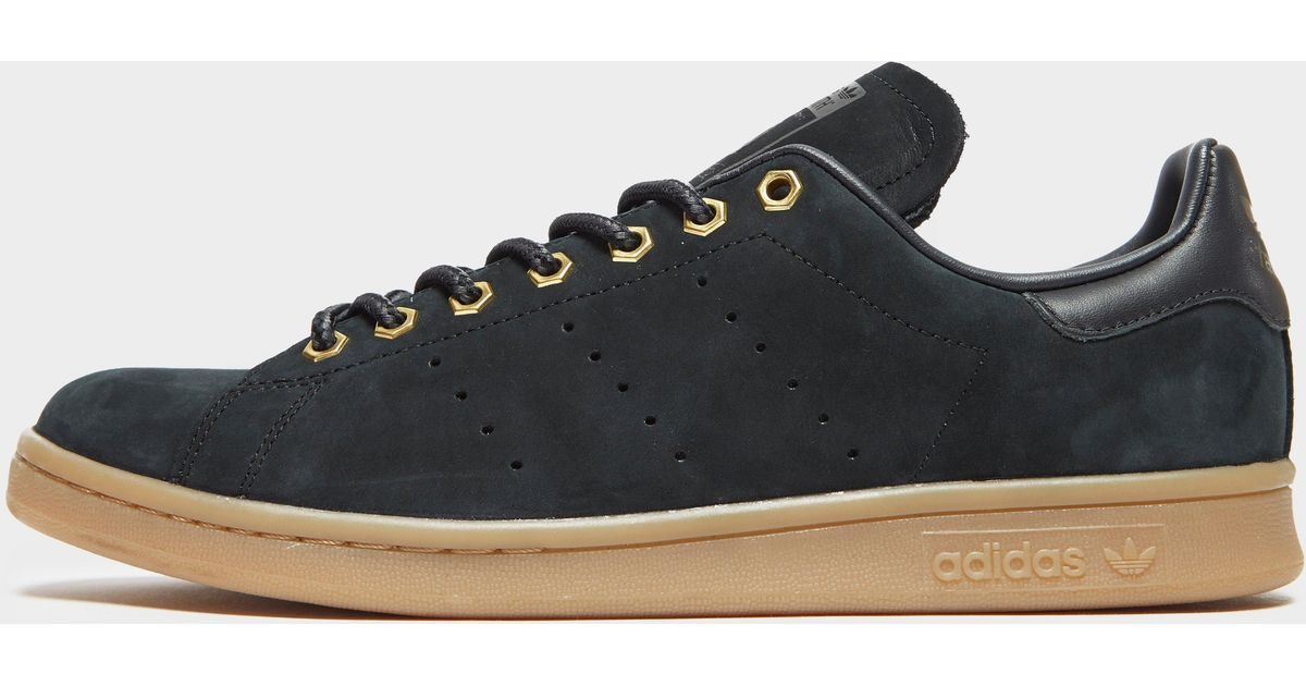 the best attitude bc950 fddfc Adidas Black Stan Smith Wp Shoes for men
