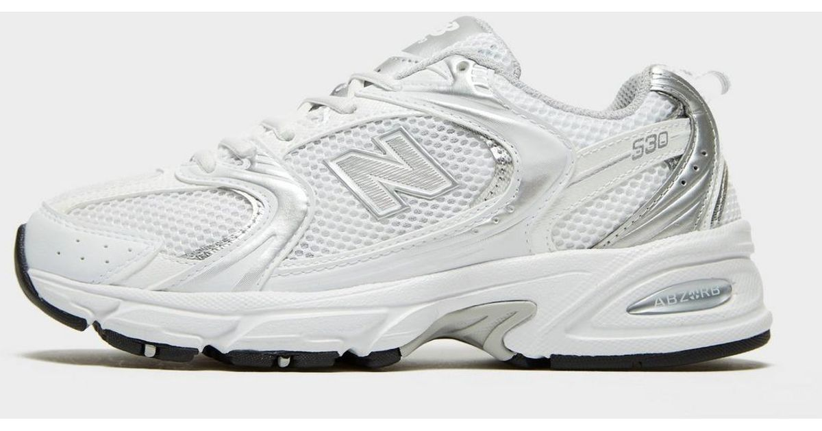 New Balance Leather 530 in White - Lyst