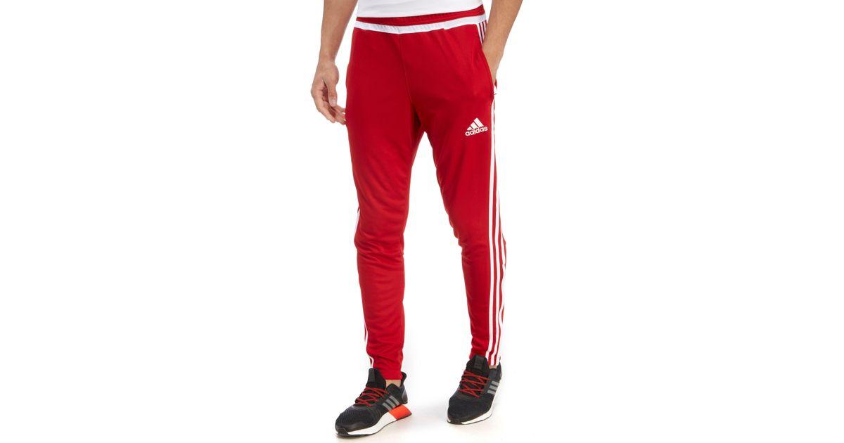 ogromna zniżka najtańszy najwyższa jakość Adidas Red Tiro 15 Poly Training Pants for men