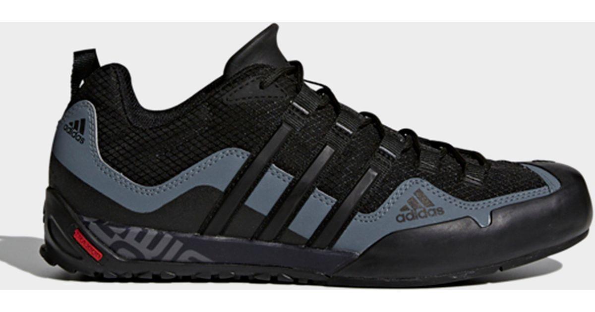 adidas Terrex Swift Solo Shoes in Black for Men - Lyst