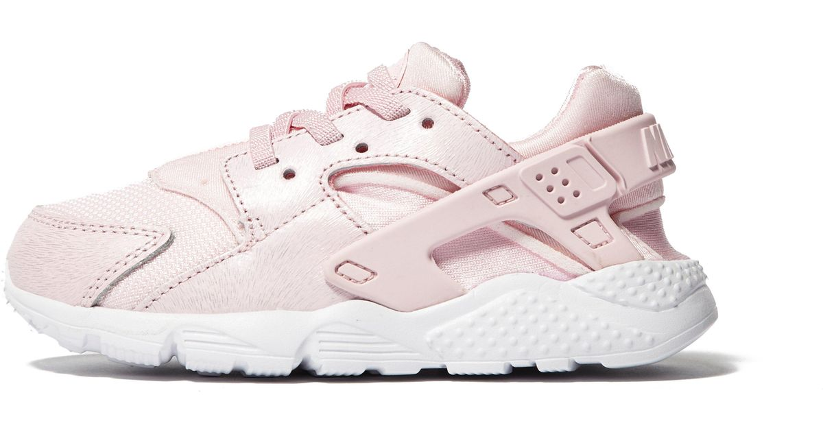 Nike Rubber Air Huarache Infant in Pink