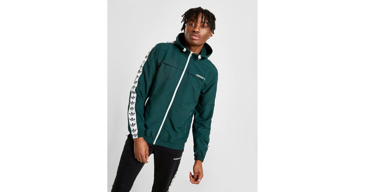 Adidas Originals Green Tape Windrunner Jacket for men