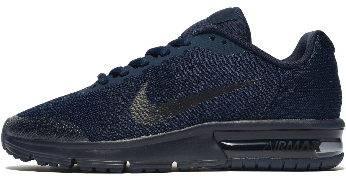 big sale 9bb5a bff04 Nike Air Max Sequent 2 Junior in Blue for Men - Lyst