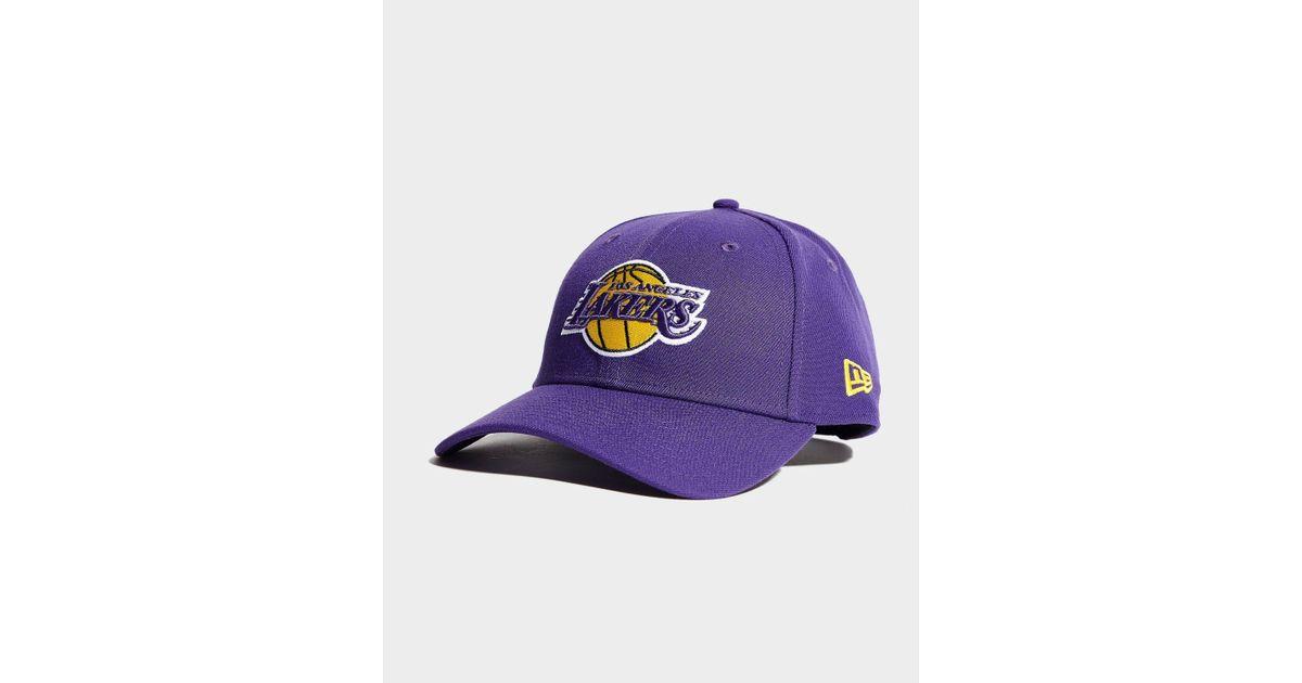 dd1c3db0a4f KTZ Nba Los Angeles Lakers 9forty Cap in Purple - Lyst