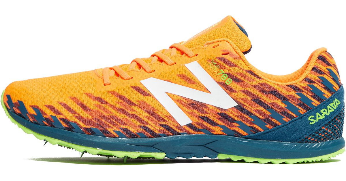 newest collection bd6ce 21796 New Balance Orange Xc700v5 Men's Cross Country Running Shoes for men