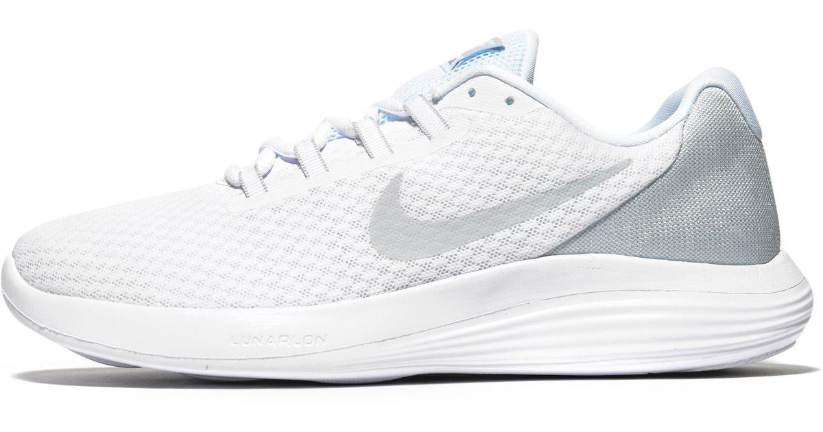 Nike Rubber Lunarconverge in White