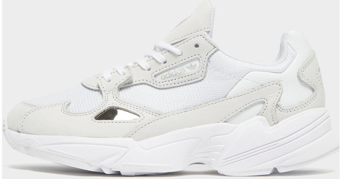 adidas Originals Suede Falcon in White
