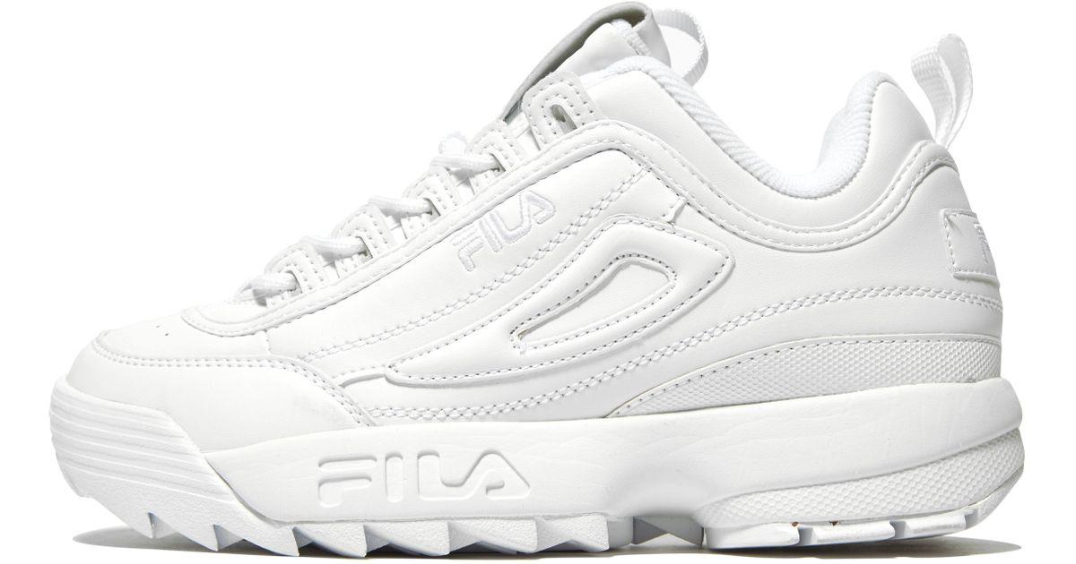451e8bcba1 Fila Disruptor Ii Premium in White for Men - Lyst