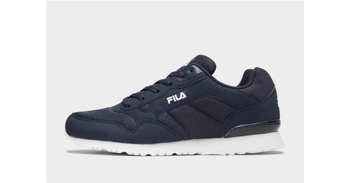 Fila Synthetic Cress Knit in Navy/White