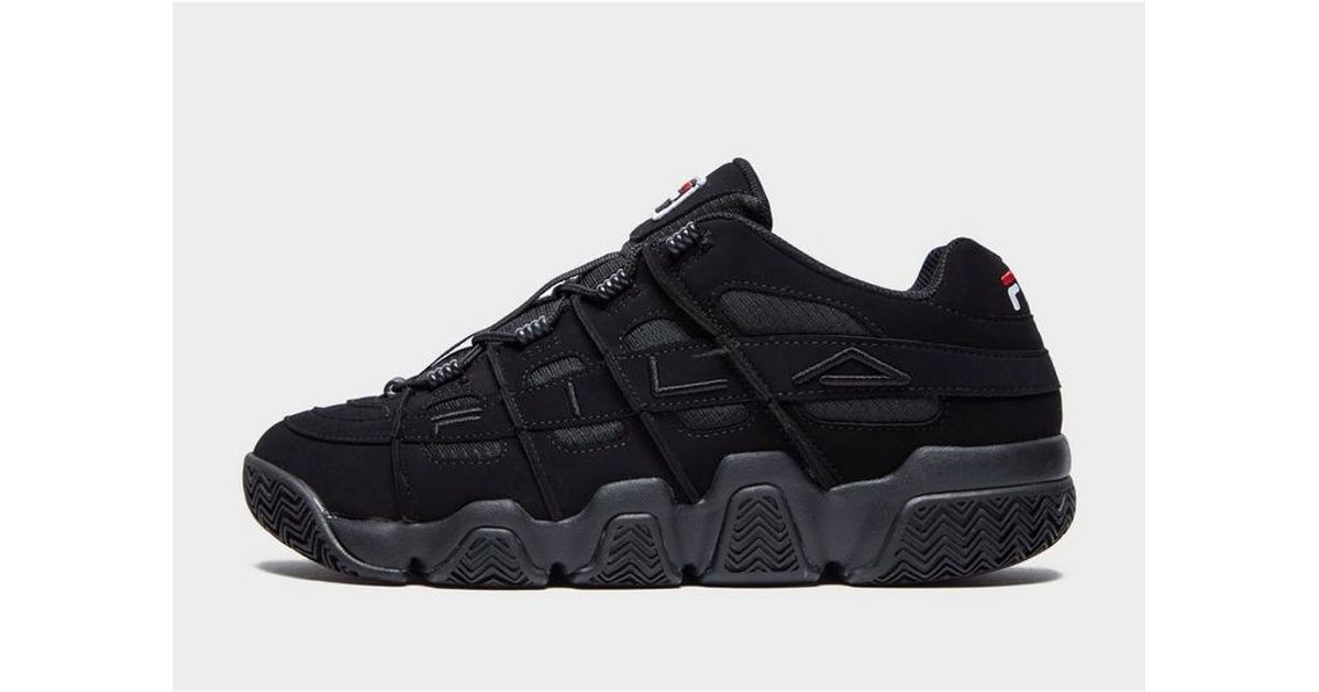 Fila Leather Uproot in Black for Men - Lyst