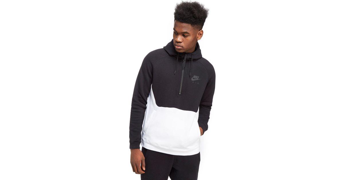 online shop no sale tax sale uk Nike Black Air Hybrid Hoody for men