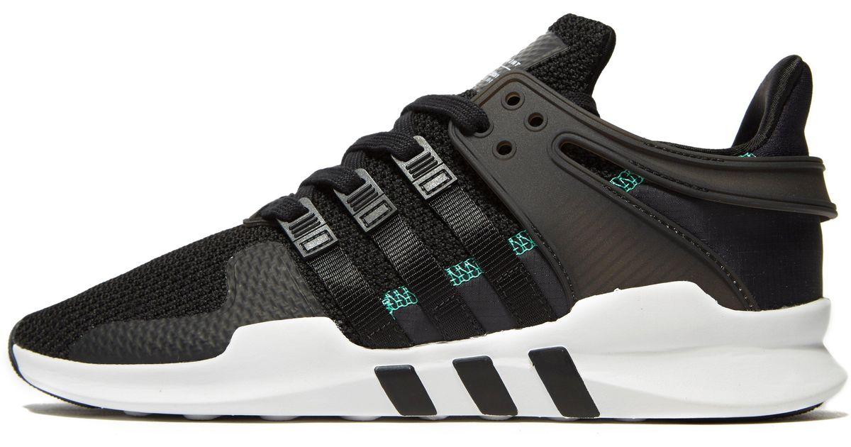 Adidas Originals Black Eqt Support Adv Ripstop for men