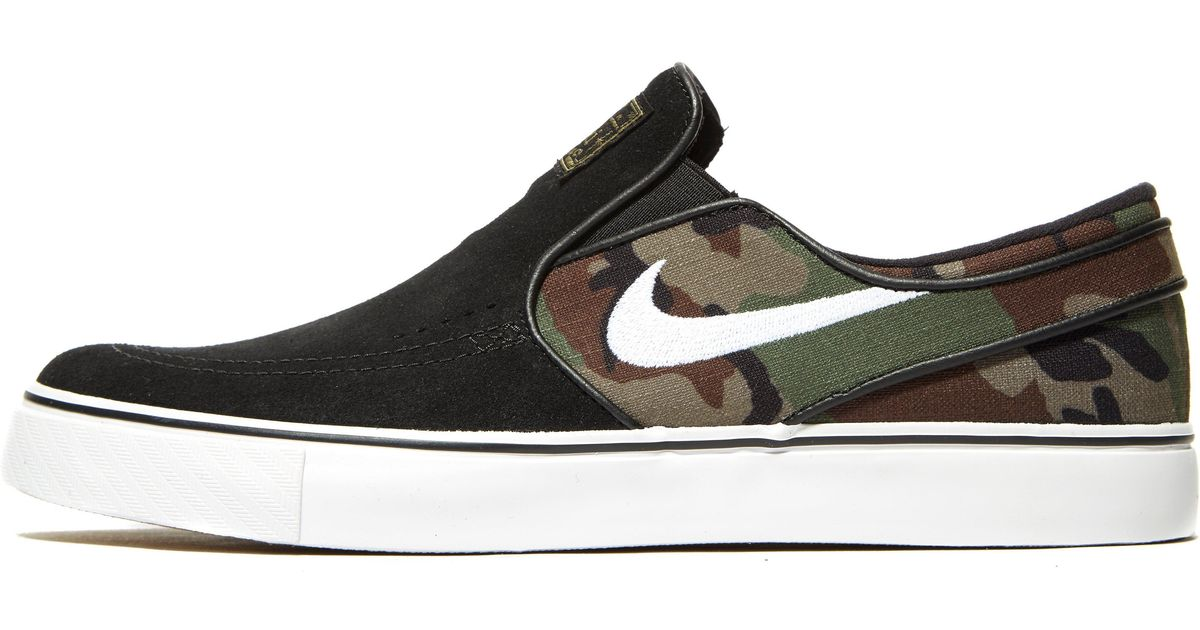 Nike Suede Zoom Stefan Janoski Slip-on