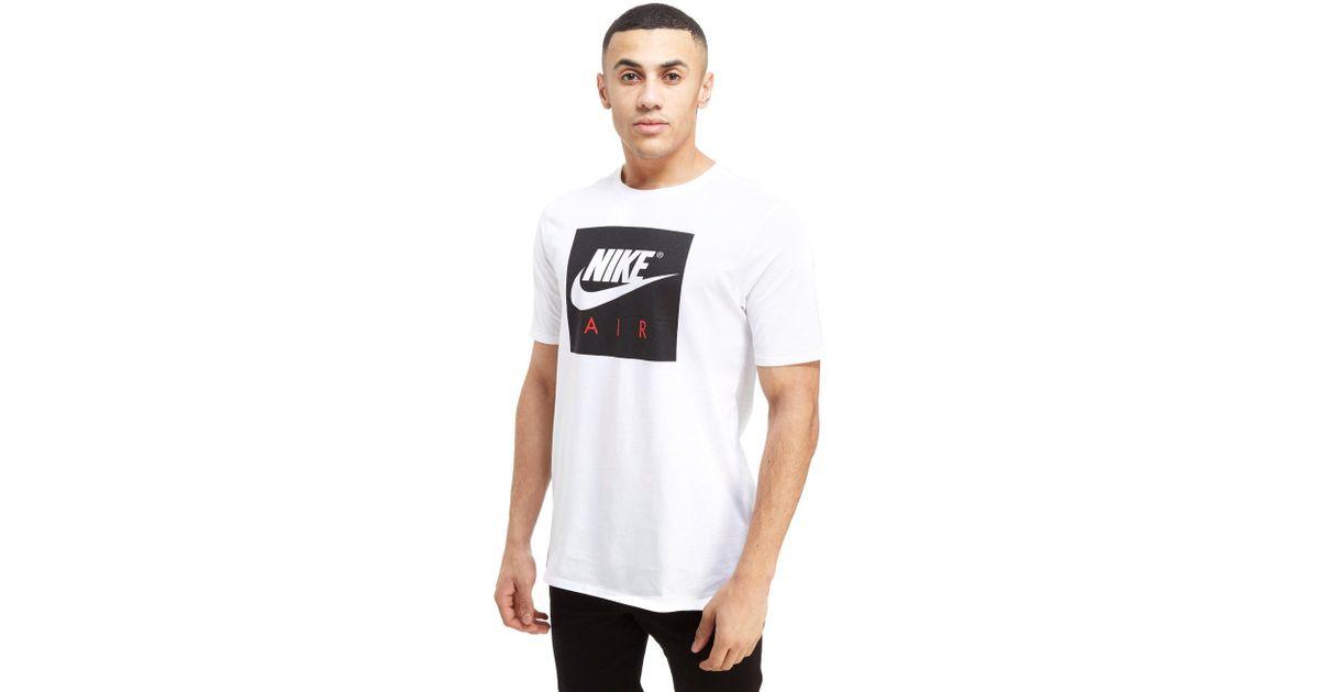 Nike Cotton Air Box Logo T-shirt in