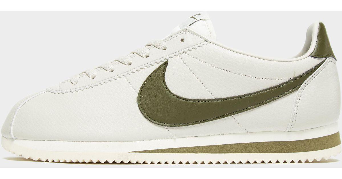 Nike Cortez Se Leather in White for Men