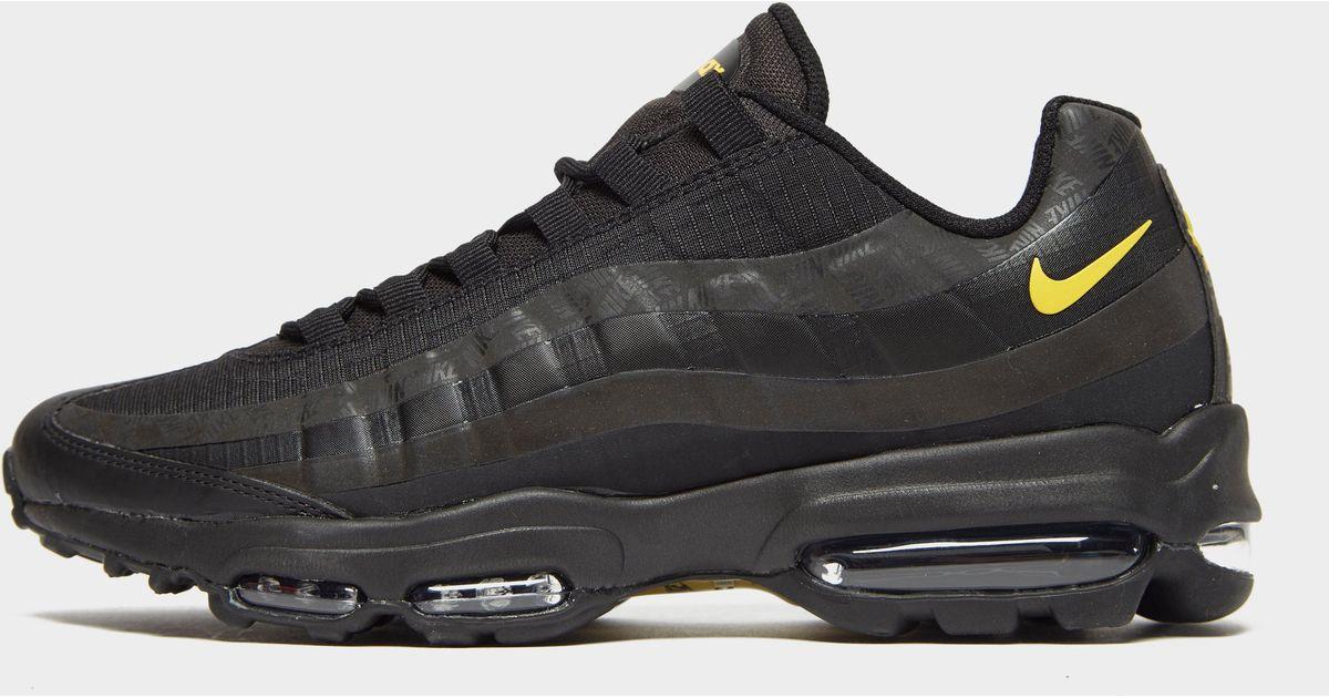 timeless design b1ace b67a5 Nike Black Air Max 95 Ultra Se for men