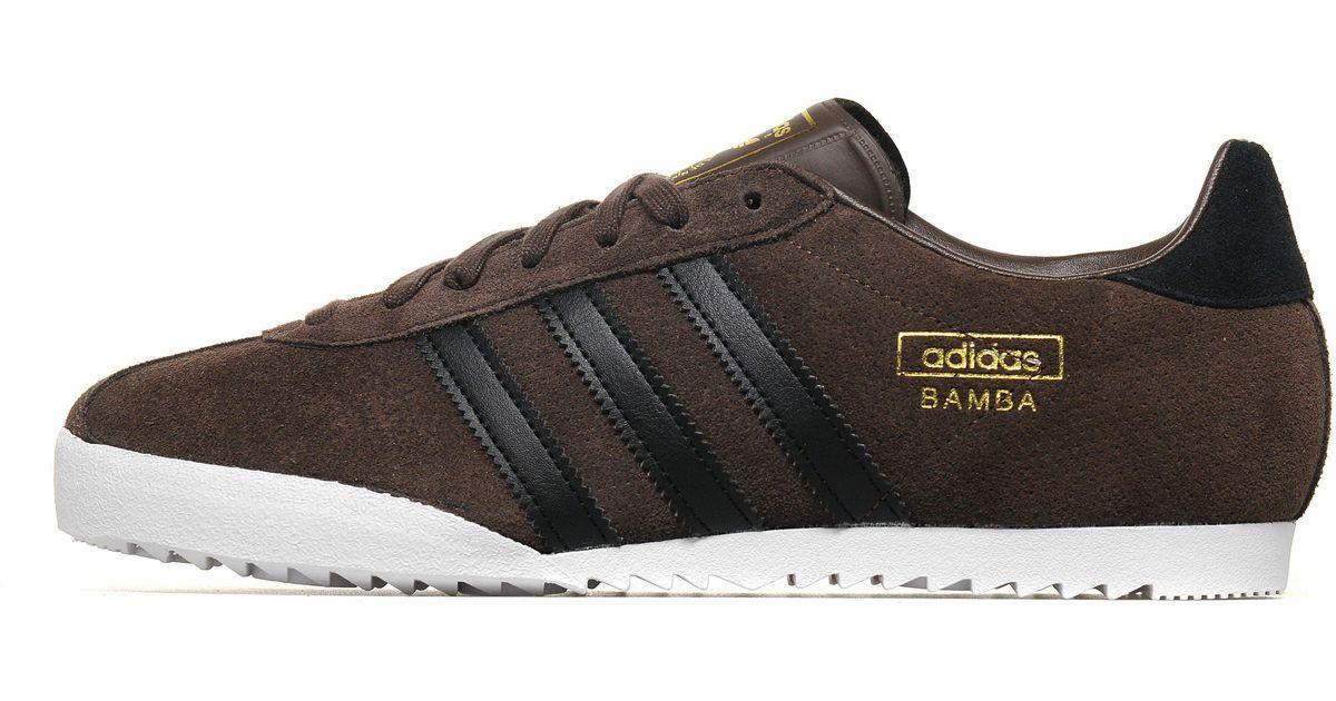 9e5c5d86802ed Lyst - adidas Originals Bamba in Brown for Men