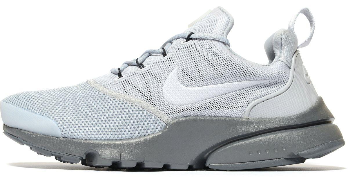 Nike Leather Presto Fly Junior in White