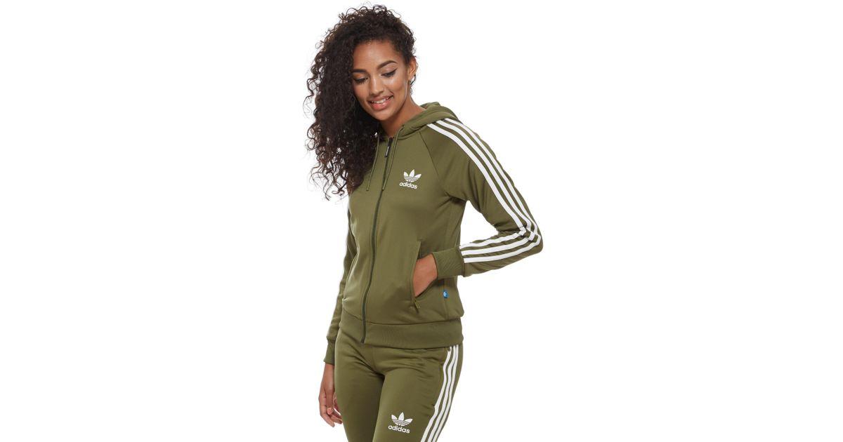 adidas originals 3stripes full zip hoodie schnäppchen
