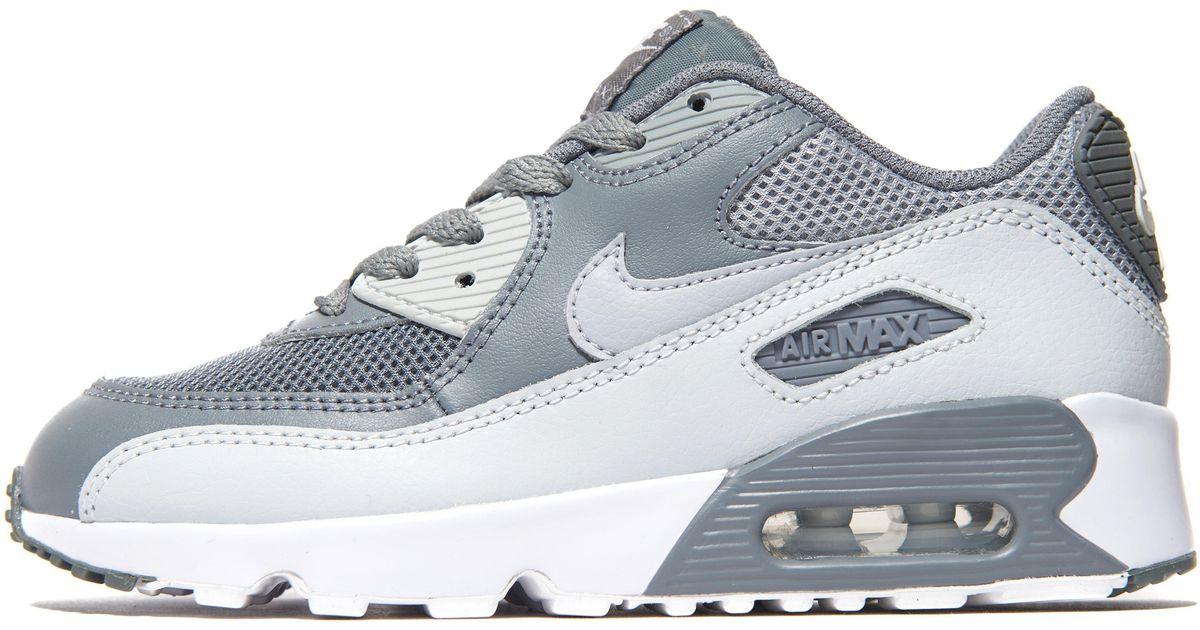 Nike Gray Air Max 90 Children for men