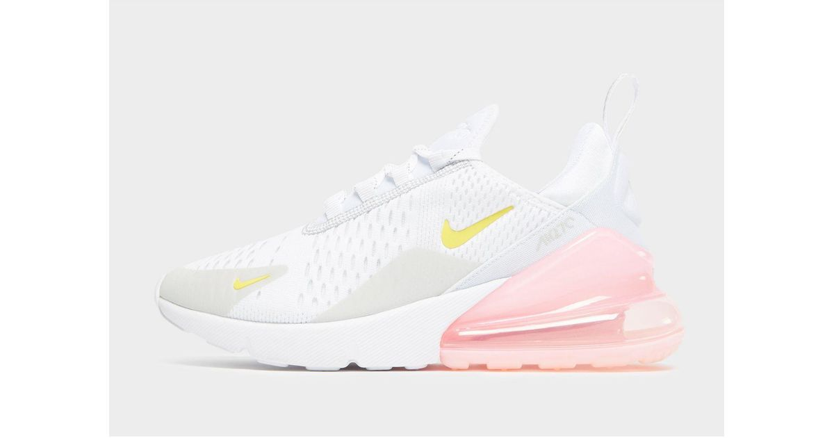 Nike Synthetic Air Max 270 in White