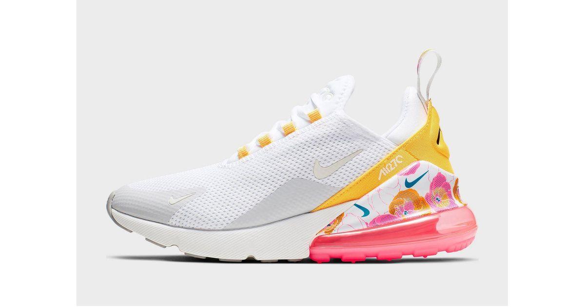 Nike Rubber Air Max 270 Se Floral Shoe