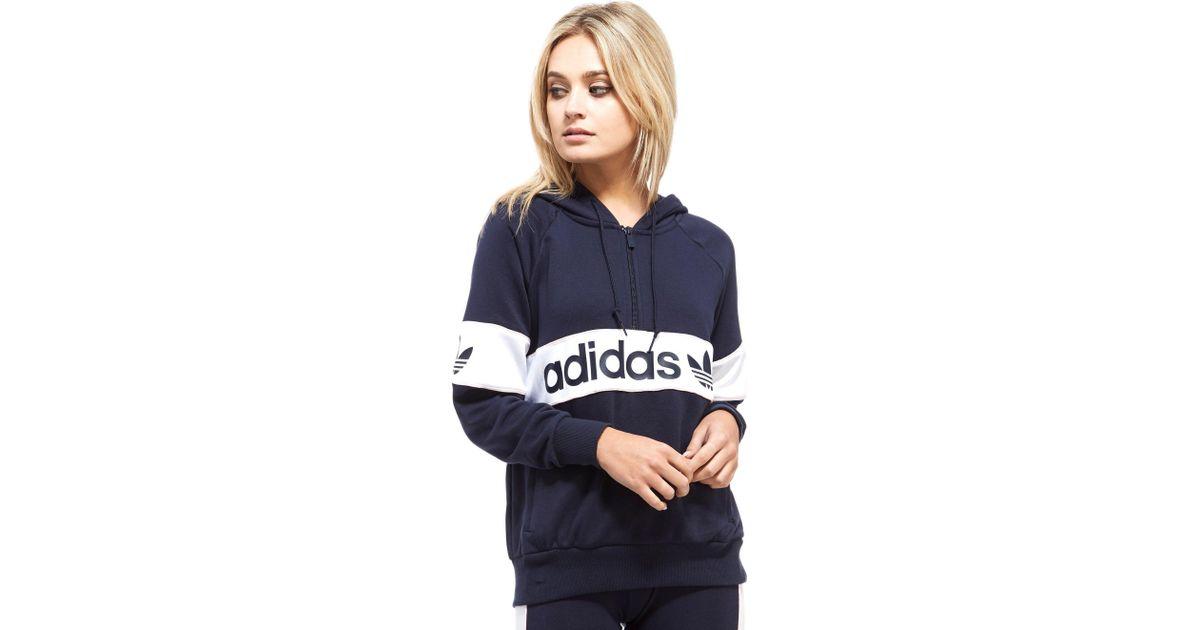adidas hoodie half zip