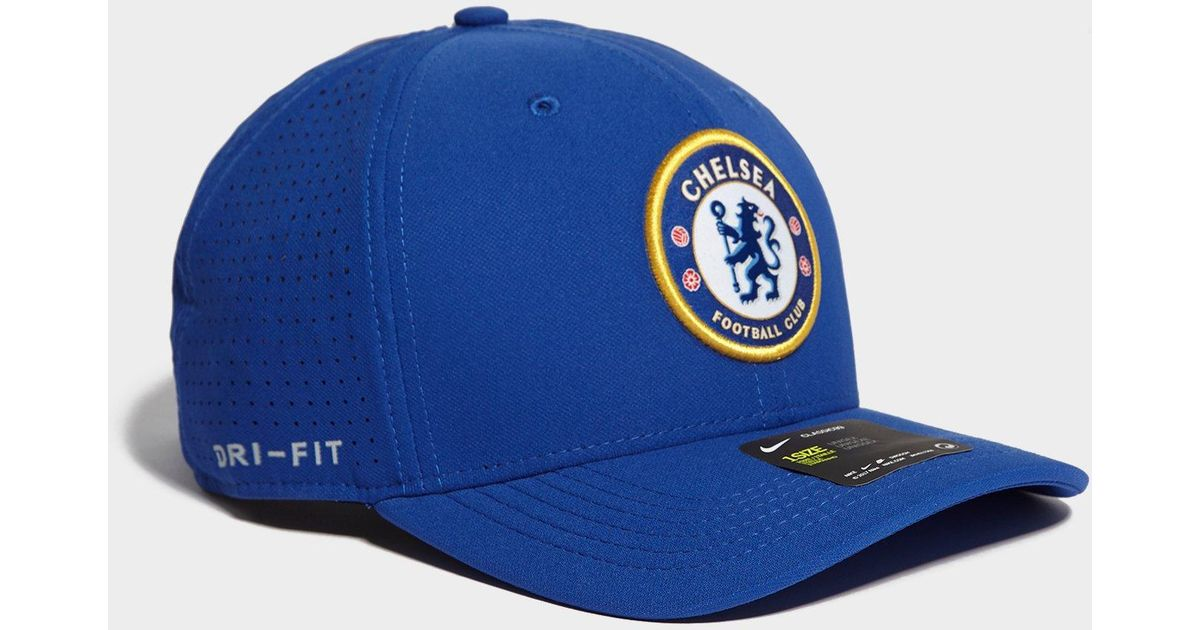 ... snapback adjustable hat blue 357e8 9430a  aliexpress lyst nike chelsea  fc aerobill classic99 cap in blue for men 60bf4 01b29 a05d784e87d6