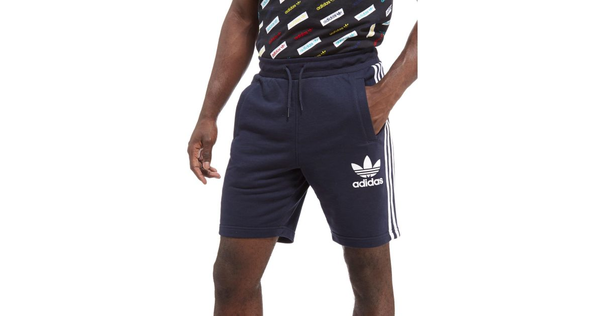 Blue Adidas California Originals Shorts Men For HI2ED9