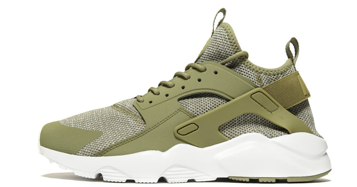 Nike Green Huarache Ultra Breathe for men