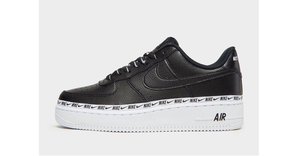 e36a49a0cc Nike Air Force 1 '07 Se Premium W in Black - Save 1% - Lyst