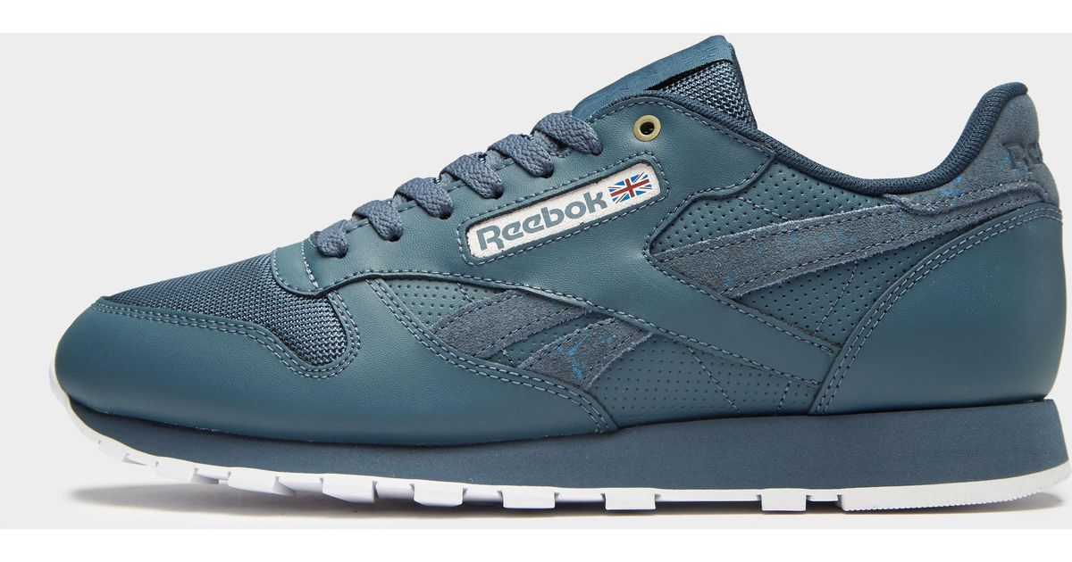 827fb8d3165ee Reebok Classic Leather Montana Cans in Blue for Men - Lyst