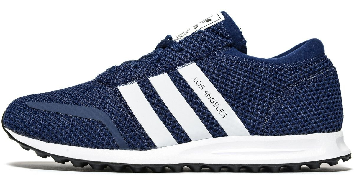 new product c6ecf 09e29 adidas Originals Los Angeles Ck in Blue for Men - Lyst