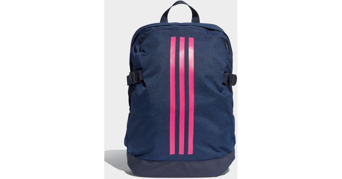 Lyst - adidas 3-stripes Power Backpack Medium in Blue for Men 041e2987995e4