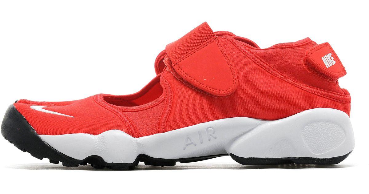 formación Pasteles mercenario  Nike Neoprene Air Rift in Red/White (Red) for Men - Lyst