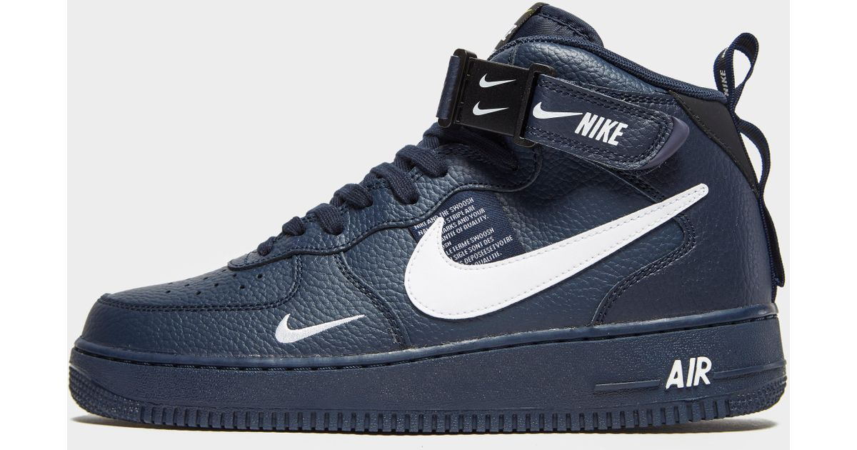 Air Force 1 Utility Mid `07 Lv8 in Blue