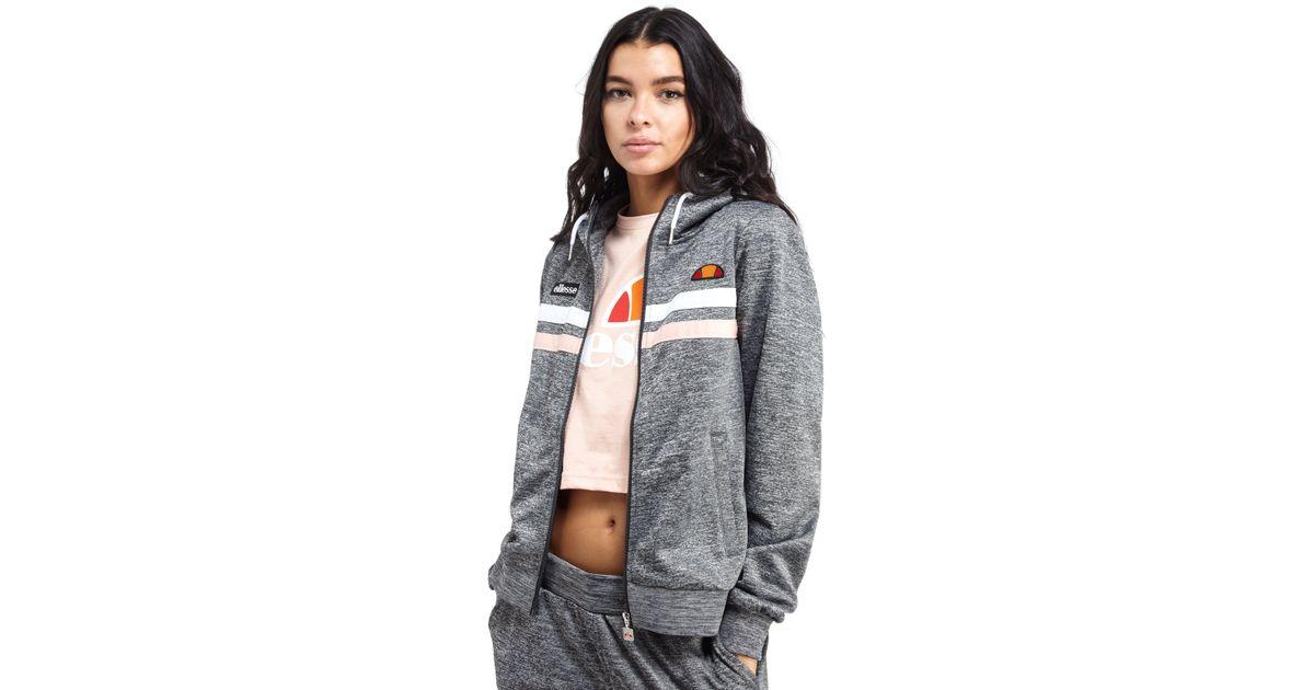 ellesse sweater grey zip