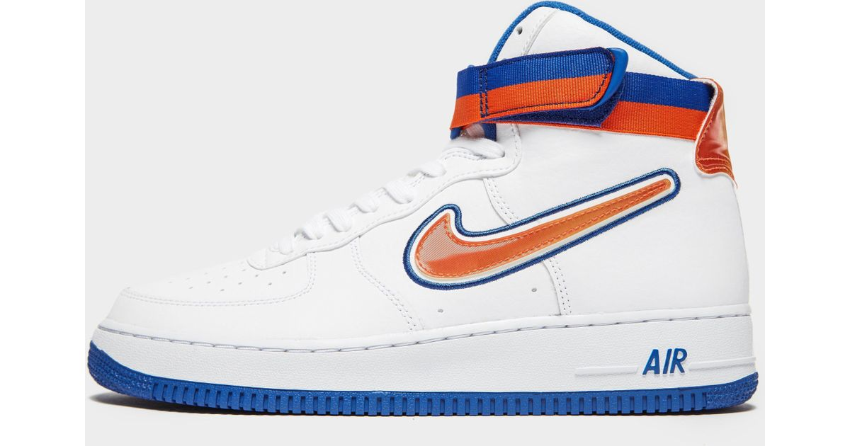 watch 5c612 50880 Nike Air Force 1 High  07 Lv8 Nba in Blue for Men - Lyst