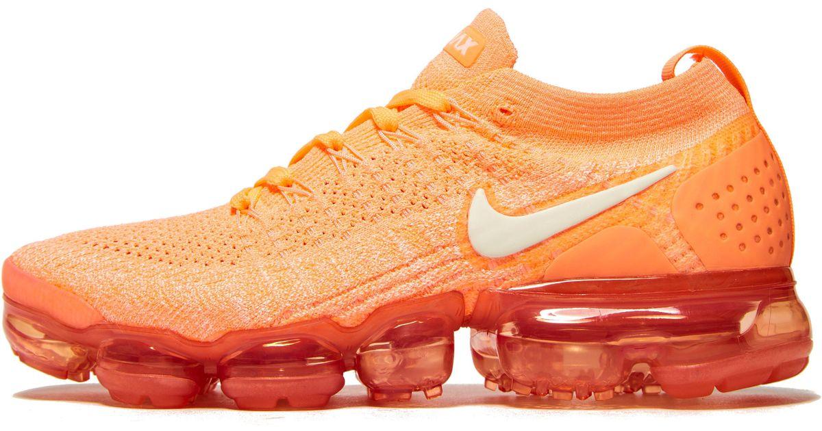 finest selection 71fb5 cfe21 Nike Orange Air Vapormax Flyknit 2 for men