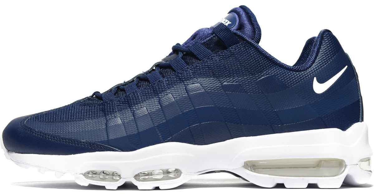 1227627bb3a3 Lyst - Nike Air Max 95 Ultra Essential in Blue for Men