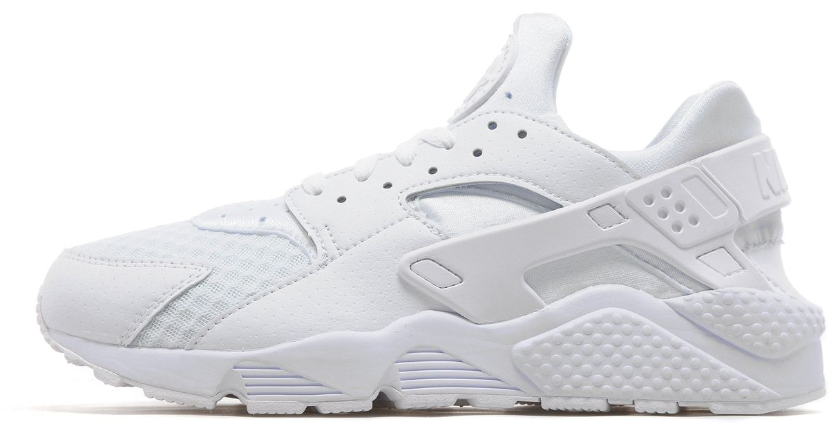 detailed look d6418 2eb9c Lyst - Nike Air Huarache platinum White in White for Men