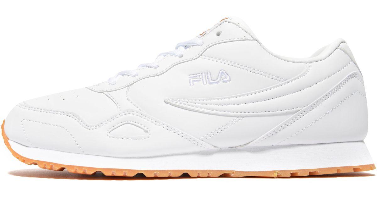 Fila White Euro Jogger 4