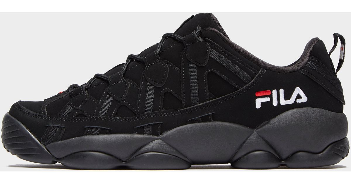 Fila Black Spaghetti Low for men