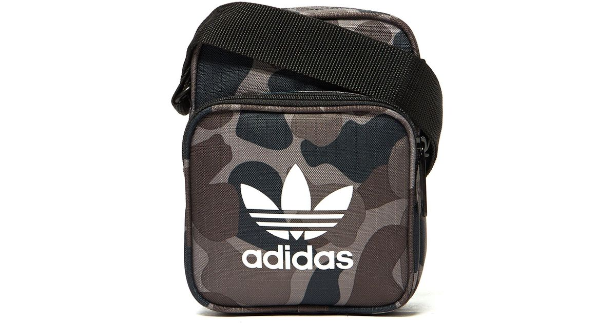 Lyst - adidas Originals Camo Small Items Bag in Green for Men fa870764660b8